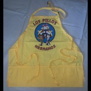 BREAKING BAD LOS POLLOS HERMANOS YELLOW APRON
